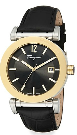 Salvatore Ferragamo - Goldtone Stainless Steel Watch
