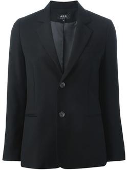A.P.C. - Classic Buttoned Blazer