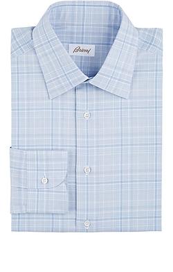 Brioni - Plaid Dress Shirt