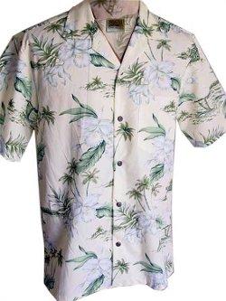 Winnie Fashion    - Exclusive Hawaiian Orchid Aloha Shirt