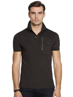 Ralph Lauren - Moto-Poket Polo Shirt