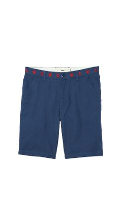 Creep  - Embroidered Weekend Chino Shorts