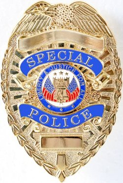 Rothco - Gold Deluxe Special Police Badge