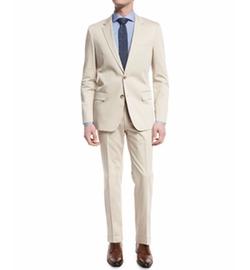 Boss Hugo Boss - Huge Genius Solid Slim-Fit Two-Piece Suit