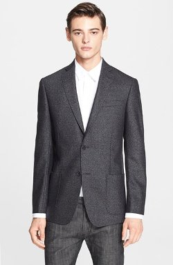 John Varvatos Star USA - Trim Fit Wool Blend Blazer