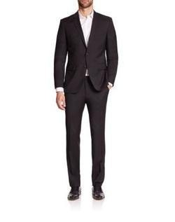 Hugo Boss - James Sharp Regular-Fit Super 120 Wool Suit