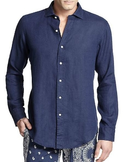Polo Ralph Lauren  - Estate Linen Sportshirt
