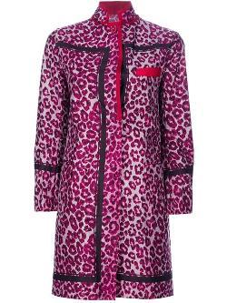 Sacai  - Leopard Print Coat
