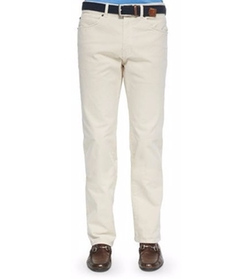 Peter Millar - Stretch Five-Pocket Khaki Pants