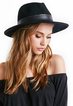 Forever 21 - Classic Wool Fedora Hat