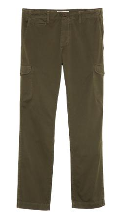 Grown & Sewn - Sateen Cadet Cargo Pants