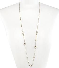 Nadri - Honeycomb Long Station Necklace