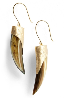 Heather Benjamin - Small Abalone Drop Earrings
