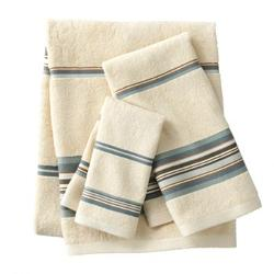 Madison - Striped Bath Towels