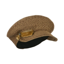 Jeanne Simmons -  Paper Braid Newsboy Hat