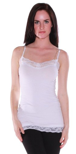 Active Products - Camisole Cami with Lace and Adjustable Straps