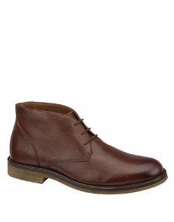 Johnston & Murphy  - Copeland Leather Chukka Boots