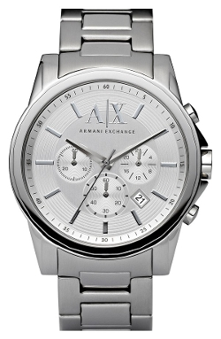 AX Armani Exchange  - Round Chronograph Watch
