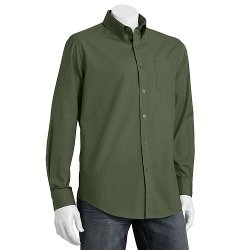 Croft & Barrow - Easy Care Striped Button-Down Collar Dress Shirt