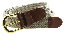 BC Belts - Braided Elastic Woven Belt