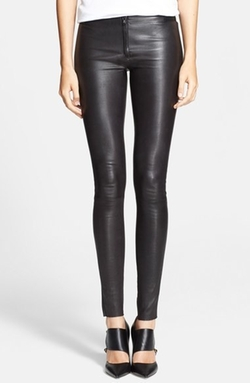 Alice + Olivia - Leather Leggings