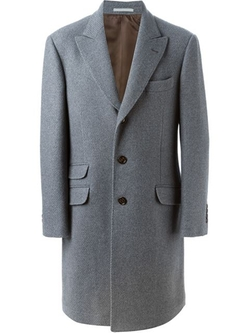 Brunello Cucinelli  - Single Breasted Coat