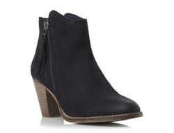 Dune London - Western Style Leather Ankle Boots