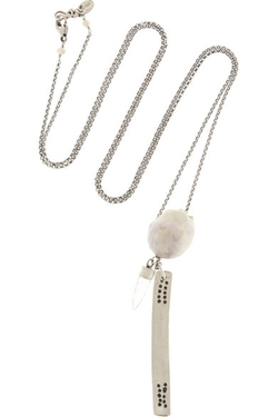 Chan Luu - Pearl and Quartz Necklace