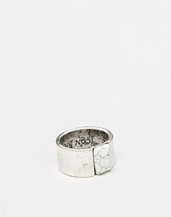 Icon Brand - Gem Stone Marble Ring