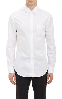 Band of Outsiders - Solid Poplin Dress Shirt