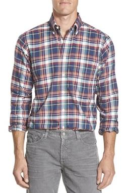 Gitman - Regular Fit Plaid Sport Shirt