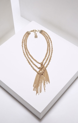 BCBGmaxazria - Braided Chain Necklace
