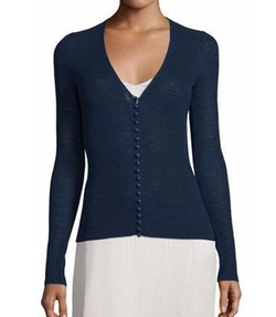 The Row - Jair V-Neck Button-Front Cardigan