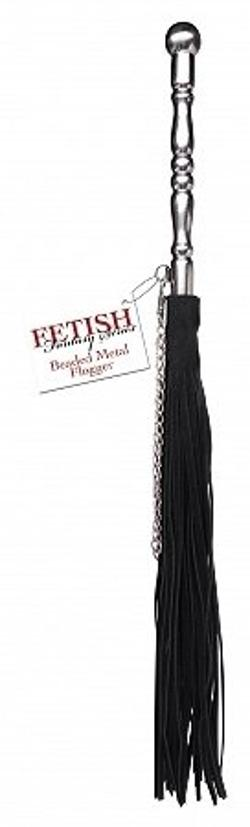 Pipedream Products - Fetish Fantasy Beaded Metal Flogger