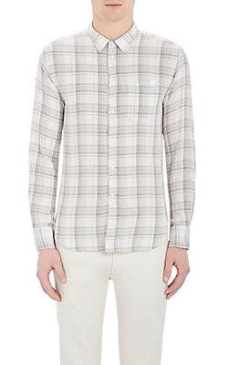 Officine Generale - Plaid Flannel Shirt