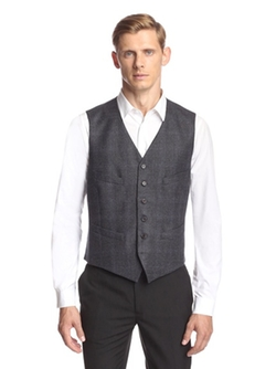 John Varvatos  - Hampton Super Wool Vest
