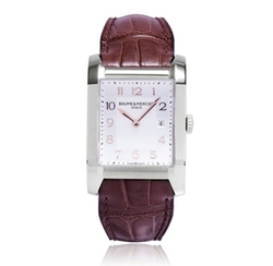 Baume & Mercier - Leather Strap Watch