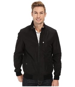 Perry Ellis - Poly Bonded Bomber Jacket
