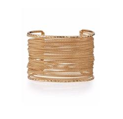 Panacea Golden  - Chain Cuff Bracelet