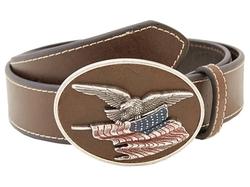 M&F Western - Eagle Flag Patriotic Flag Buckle Belt