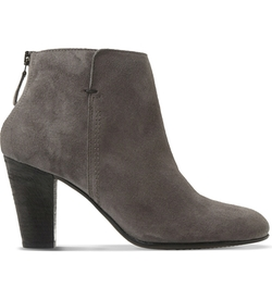 Dune Black  - Pharah Suede Ankle Boots