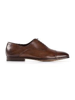 Santoni - Lace Up Oxford Shoes