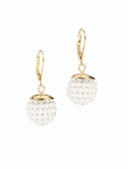 Talbot - Caviar Cluster Earrings