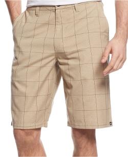 Quiksilver - Avenues Plaid Shorts