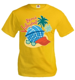 Fruit of the Loom - Beach Volleyball T Shirt