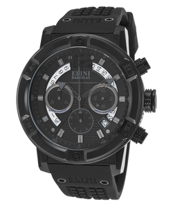 Elini Barokas - Spirit Chrono Gunmetal Subdials Wrist Watch
