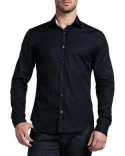 Burberry - Henry Check-Trim Button-Down Shirt