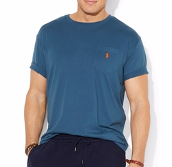 Polo Ralph Lauren  - Classic-Fit Jersey Pocket Crewneck T-Shirt