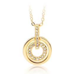 My Jewellery Story  - MYJS Circle Pendant Necklace