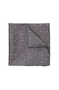 Vince Camuto - Denim Dot Pocket Square